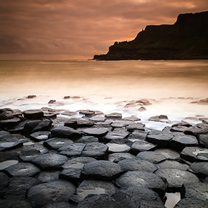 The Giant Causeway - photographie d'art