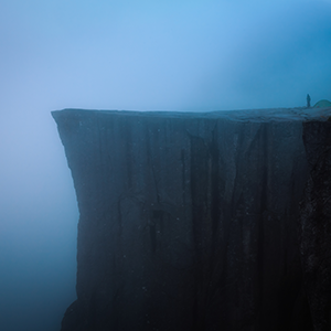 Pulpit Rock - photo d'art en vente